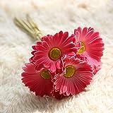 Li Hua Katze Multicolor Duft Rose Bouquet Künstliche Home Kitchen, Blumen Bouquet rot