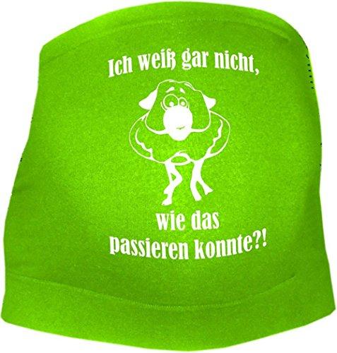 KLEINER FRATZ - Ceinture de grossesse spécial grossesse - Slogan - Femme - vert - 36