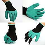 1 Pair 4 ABS Plastic Claws Gardening Gloves For Raking,Digging & Planting UK Seller Bestshopno1