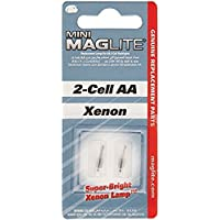 Mag-Lite LM2A001 2 Bombillas Minimag para 2-Cell AA y AAA