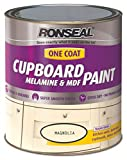 Ronseal One Coat & Melamin MDF Lack 750ml Magnolia