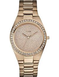 Guess - W12651L1 - Montre Femme - Quartz Analogique - Bracelet Acier Inoxydable Plaqué