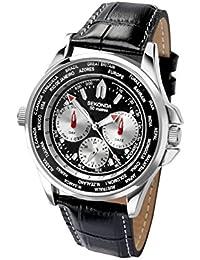 Sekonda Hombres Mundo temporizador reloj cronógrafo para hombre (223857544)