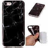 Coque pour Apple iPhone 7/8 (4.7 pouces) Silicone TPU Bumper Unique Design Souple Soft Cover Effacer Clair transparent Etui Housse Case (+Outdoor boussole trousseau)#MR