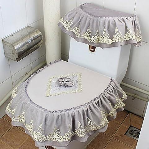 Boutique Toilette Drei Stück Anzug Kurze Spitze Toilettenpapier Verdickung, F