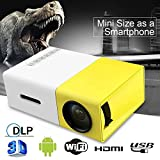 Gadgets Appliances Portable Newest YG300 LCD Projector 600LM Home Media Player Mini Projector