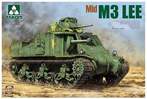 Mirage General Grant Mk.I El Alamein 1942 Medium Tank 1:72 Modell-Bausatz Panzer