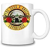 Guns N Roses Experience Taza Coffee Mug Ceramic Coffee Tea Beverage Kitchen Mugs By Genuine Fan Merchandise