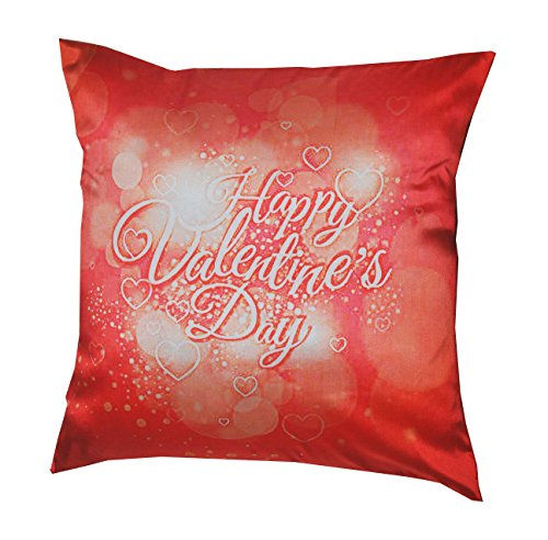 VALENTINE 16X16 INCHES SOFT COZY DIGITAL PRINT FILLED CUSHION SINGLE PCS Valentine Gift Personalize Forever n Ever Cushion Gift for Valentine GIFTS110148 Romantic Valentine Gift,Valentine Gift for Him,Valentine Gift for Her,Valentine Gift for Boyfriend,Valentine Gift for Girlfriend,Valentine Gift for Husband,Valentine Gift for Wife  available at amazon for Rs.249
