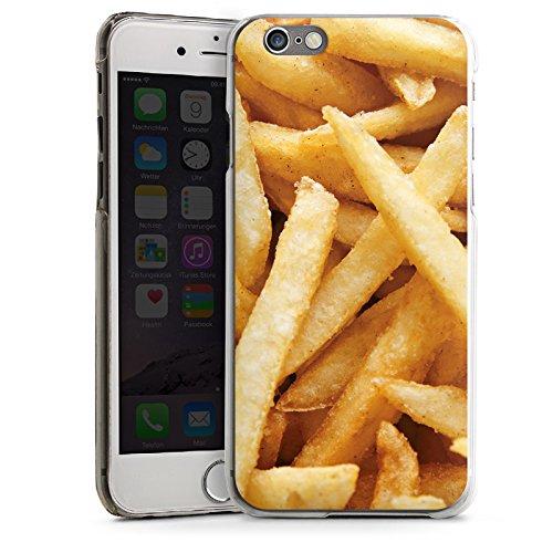 Apple iPhone 5s Housse Étui Protection Coque Pommes Frites Fast Food CasDur transparent
