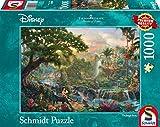Schmidt Spiele 59473 - Thomas Kinkade, Disney Dschungelbuch,  1.000 Teile Puzzle