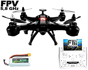 Fm-electrics FM X161 – XXL Quadcopter with Brushless Motor and 5.8 GHz FPV Camera from FM-electrics