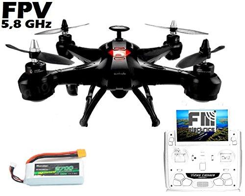 Preisvergleich Produktbild fm-electrics FM X161 - XXL Quadrocopter mit Brushless Motoren und 5.8 GHz FPV Kamera
