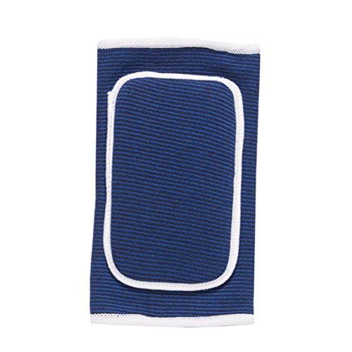 VORCOOL Ellenbogenbandage Ellbogenschoner Ellbogenschützer mit Gepolstert Schwamm für Basketball Tennis Golf Sport Arthritis Schmerzen 1 STÜCKE (Blau/Freie Größe)