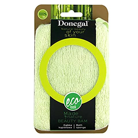 Donegal–Beauty Bam Eco Natural Dusche Bad Zubehör Bad Schwamm (6320)