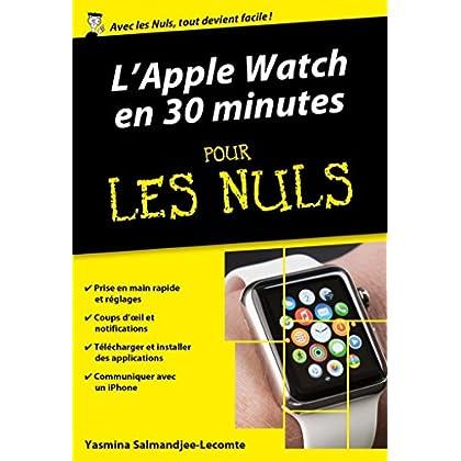 L'Apple Watch en 30mn pour les Nuls