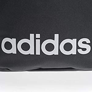 51cmtdnmLhL. SS300  - Adidas Lin CLAS BP Day Sports Backpack, Unisex Adulto, Black/Black/White, NS