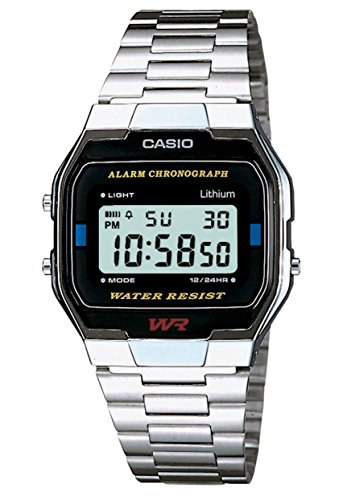 Casio Collection Unisex Adults Watch A163WA-1QES