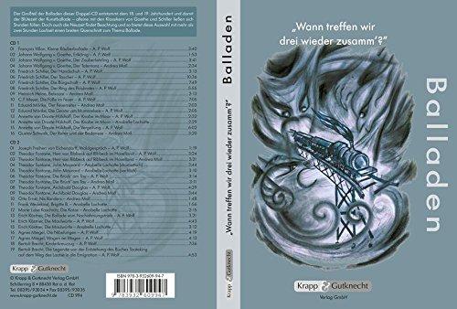 """""""Wann treffen wir drei wieder zusamm´?"""": Unterrichtsmaterialien, Texte, Hör-CD, Balladen, Doppel-CD"""