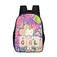 Zhcon Preschool Student Printing Backpack Outdoor Backpacks Laptop Bag for Teen Boys 32x18x42Centimeters