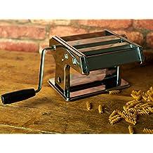 Máquina de pasta eléctrica con la abrazadera de mesa y cortador, lasaña, tallarines, Fettuccine