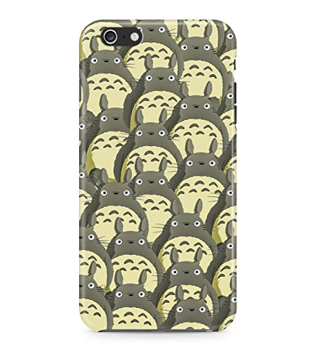 My Neighbor Totoro Pattern Hard Plastic Snap On Back Case Cover For iPhone 6 Plus / 6s Plus Custodia