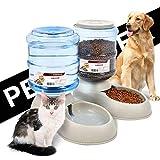 YGQersh 3.75L Pet Cat Dog Feeder Automatic Drink Distributeur de Bols d'eau pour Animaux - Distributeur d'eau