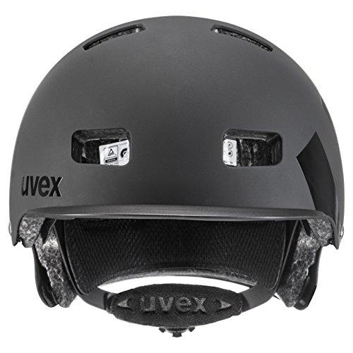 Uvex Fahrradhelm Hlmt 5 Bike Pro, Black Mat, 58-61, 4103030719 - 4