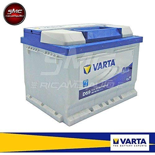 BATTERIA AVVIAMENTO AUTO ORIGINALE VARTA BLUE DYNAMIC 60AH D59 12V 540A 560409054