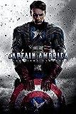 Tainsi Captain Poster America Heros Poster, 91.5 x 60 cm