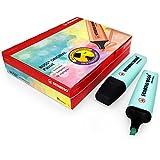 Stabilo Boss Original Pastel marqueur Surligneur stylos–Lot de 10–Turquoise