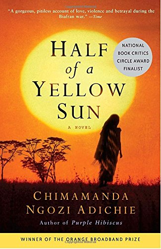Book cover for Half of a Yellow Sun