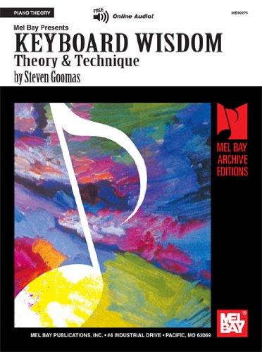Keyboard Wisdom: Theory & Technique (Archive Edition) por Steven Goomas