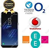 Unlocking Code for SAMSUNG GALAXY S7 S8 S6 S5 A3 A5 J3 J5 Note Edge Mobile Phones. For UK Networks ONLY