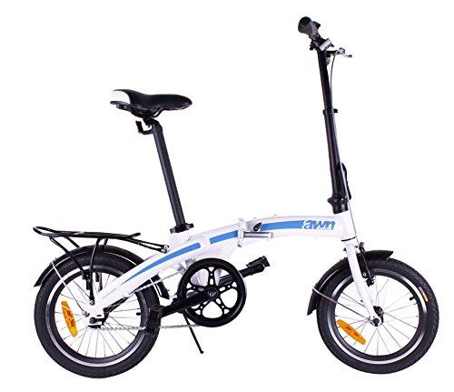 AWN Bicicleta plegable de 16 pulgadas de