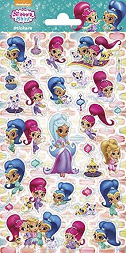 Peterkin Peterkin Peterkin 5009 Shimmer et Shine Twinkle Stickers, Multicolore 91ead5