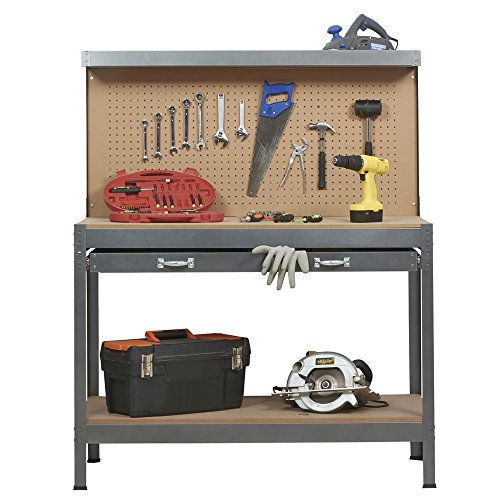 and photo bench garage workbench ideas workshop workbenches storage of for
