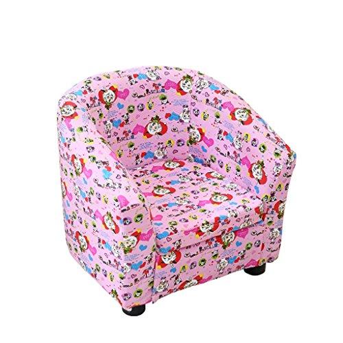 ALUK- small stool Silla cómoda para niños Silla Moderna Simple Sillón de Dibujos Animados Linda Color Hermoso Cómodo y Ligero L45cm * W45cm * H44cm