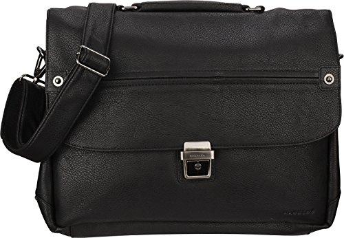 Harold's Basic Aktentasche 38 cm Laptopfach schwarz