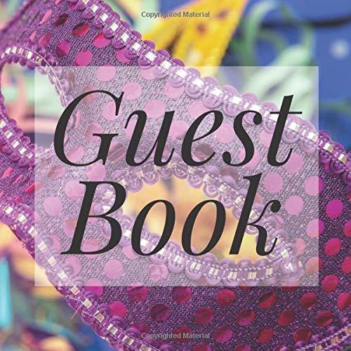 Masquerade Mask Ideen - Guest Book: Carnival Masquerade Mask -
