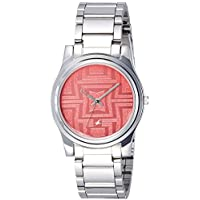 Fastrack Analog Pink Dial Women's Watch-NK6046SM02