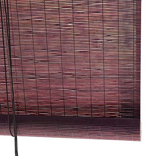 QIANDA Persianas Venecianas Cortina Persianas Tejidas Bloqueando La Luz Separar Privacidad 60% Protección UV Muebles Orientales (Color : B, Size : 150cmX160cm)
