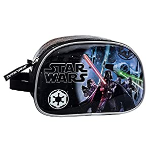 Star Wars Neceser Adaptable, Color Negro, 3.36 litros