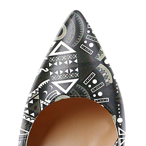 EKS - Sandali con Zeppa donna Black Totem