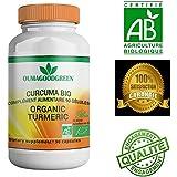 Curcuma Bio 90 gélules – Anti-inflammatoire naturel – Efficace – Effets immédiats – OFFERT: Facture personnalisée...