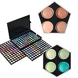 KRABICE Paleta de maquillaje de sombra de ojos, 252 Sombreador de ojos de Colores Sombra de ojos Kit...