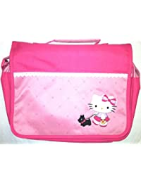 Hello Kitty Black Terrier Collection: Girls Pink Messenger Bag By Sanrio And Nakajima