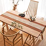 WENJUN Tischläufer Handgefertigte Elegante Tischläufer Blue Teal Für Zuhause Dekorative Couchtisch Bettläufer Sofa, 2 Farben (Farbe : Gray, größe : 30 * 200cm)