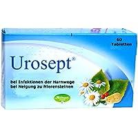 Urosept, 60 Tabletten - bei Blasenentzündung, für die Nieren, harntreibend, entzündungshemmend, bei Neigung zu... preisvergleich bei billige-tabletten.eu