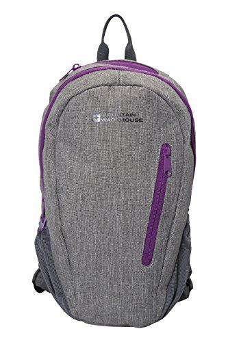 Mountain Warehouse Espirit 10-l-Rucksack - Damenrucksack mit Netzriemen und Tablet-PC-Fach, Reißverschlusstasche, Tagesrucksack mit Flaschenhalter - Ideal Zum Reisen Kohle (Freien Im Kohle-gewebe)